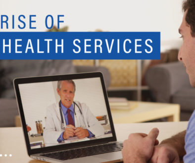 Image of someone on their laptop during a telehealth consultation from Richfield Medical Group in Minnesota